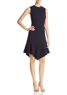 DKNY Sleeveless Flounce Hem Dress