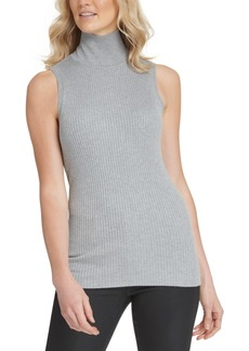 Dkny Sleeveless Mock-Neck Sweater