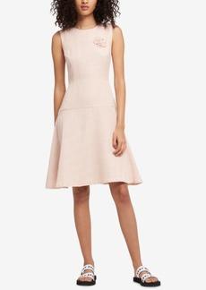 Dkny Sleeveless Tweed Dress, Created for Macy's