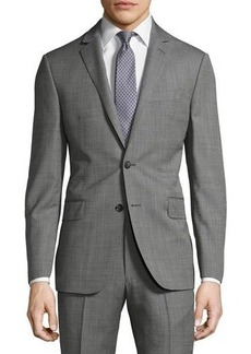 DKNY Slim-Fit Solid Wool Two-Button Suit