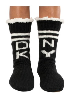 Dkny Slipper Sock with Suede Sole