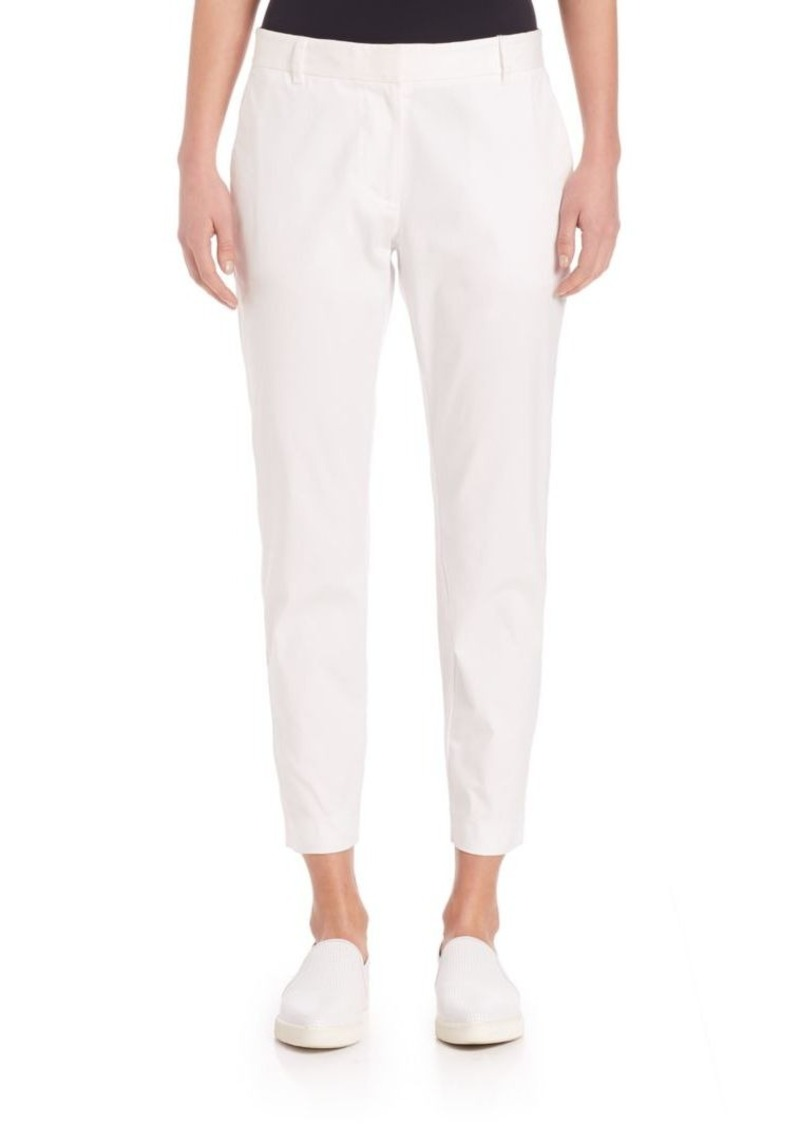DKNY Solid Cropped Pants