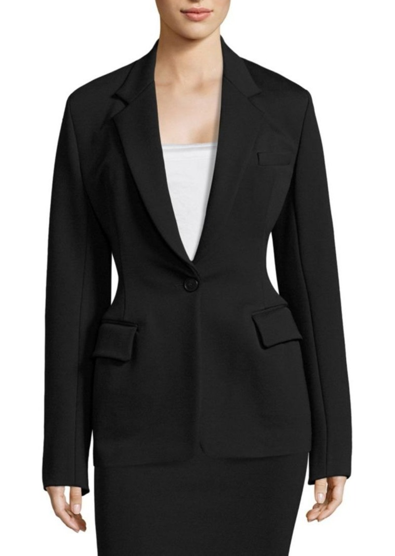 DKNY On-Trend Notch Collar Jacket
