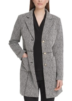 Dkny Speckled-Knit Topper Jacket