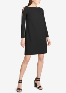 Dkny Split-Sleeve Shift Dress, Created for Macy's