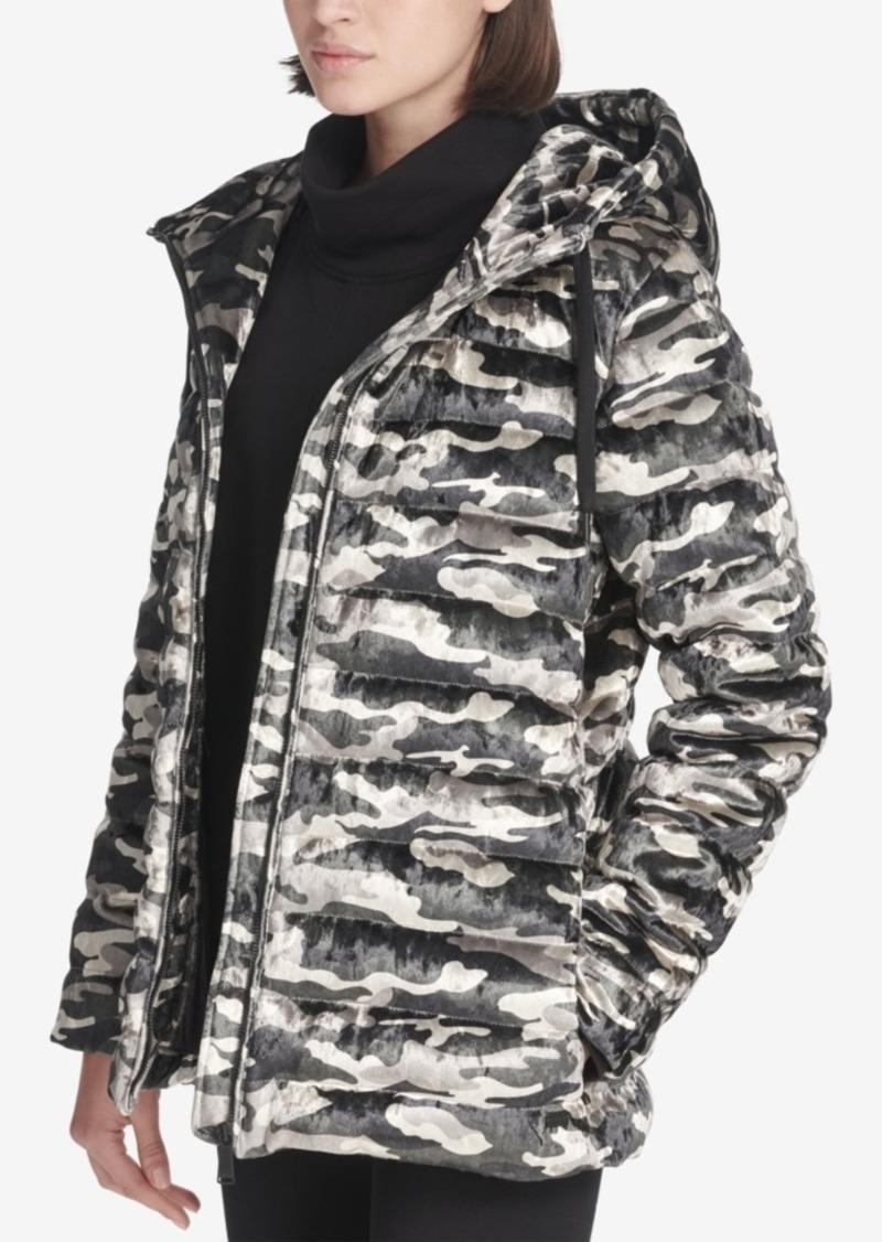 0bbc7762e Sport Camo-Print Velvet Hooded Jacket, Created for Macy's