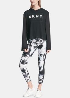 Dkny Sport City Spray High-Waist Ankle Leggings, Created for Macy's