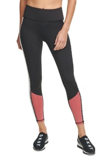 Dkny Sport Colorblocked High-Waist Leggings