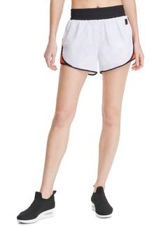 Dkny Sport Colorblocked High-Waist Shorts