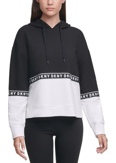 Dkny Sport Colorblocked Relaxed Hoodie