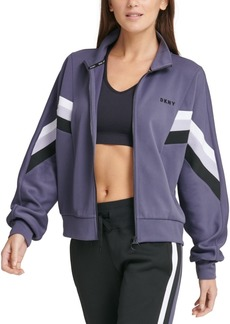 Dkny Sport Colorblocked Track Jacket