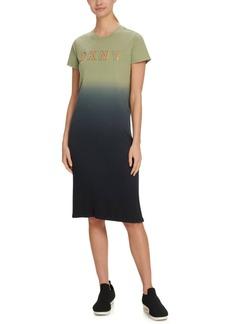 Dkny Sport Dip-Dyed T-Shirt Dress