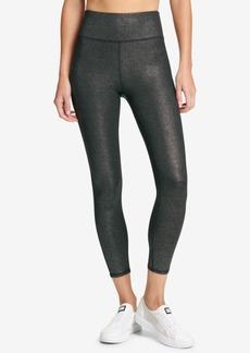 Dkny Sport Glitter Ankle Leggings, Created for Macy's