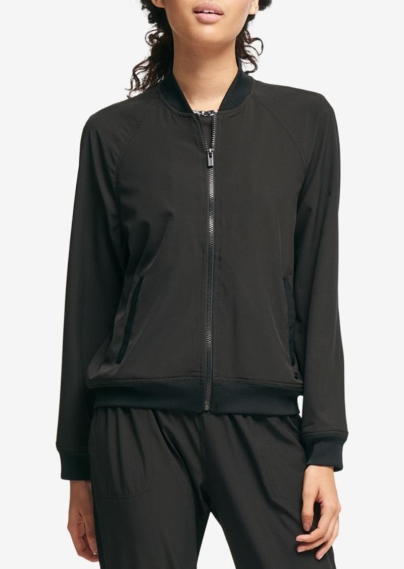 Dkny Dkny Sport Graphic Bomber Jacket Outerwear