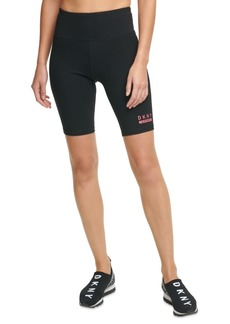Dkny Sport High-Waist Bike Shorts