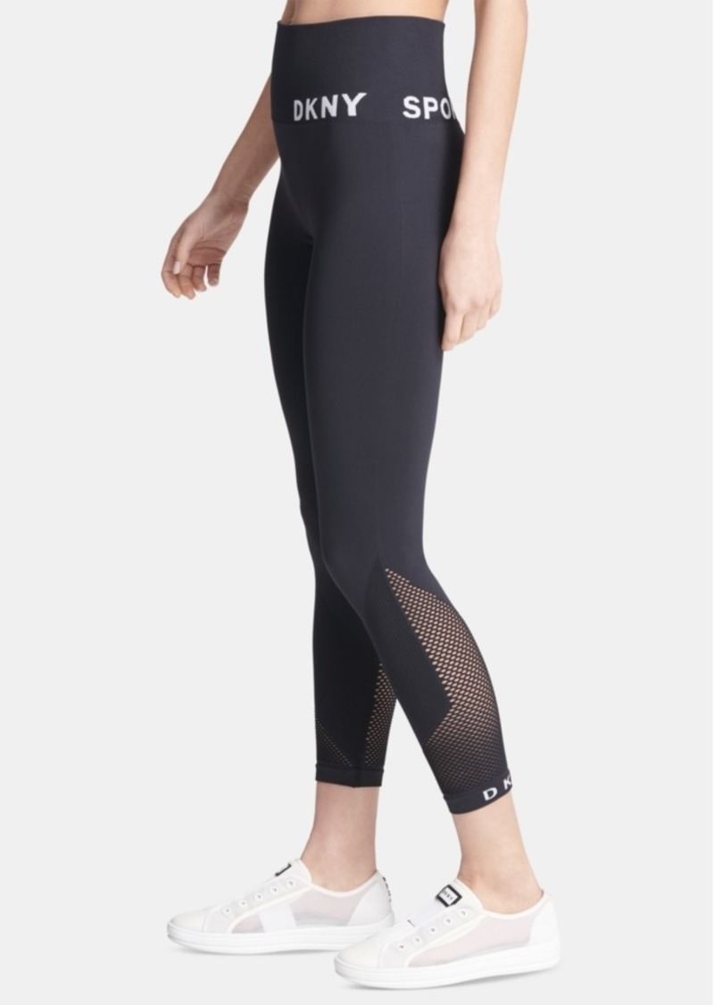 Dkny Sport High-Waist Seamless Ankle Leggings
