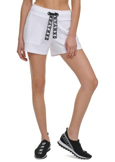 Dkny Sport Lace-Drawstring Shorts