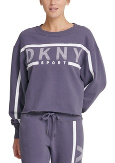 Dkny Sport Logo Fleece Sweatshirt