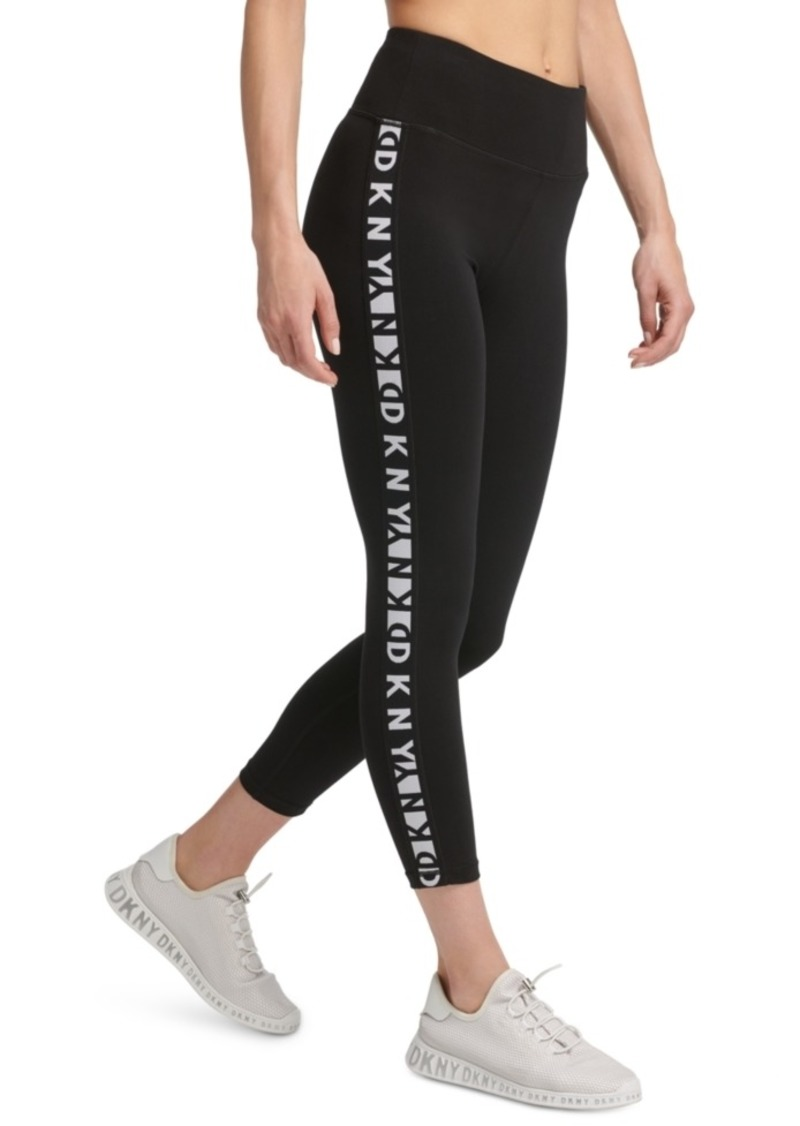 Dkny Sport Logo High-Waist Leggings
