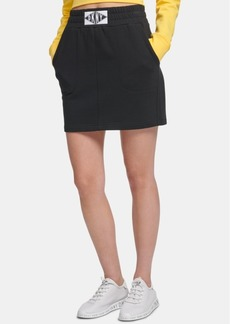 Dkny Sport Logo-Patch Skirt, Created for Macy's