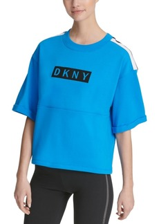 Dkny Sport Relaxed Logo Top