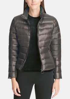 Dkny Sport Scarf Down Jacket, Created for Macy's