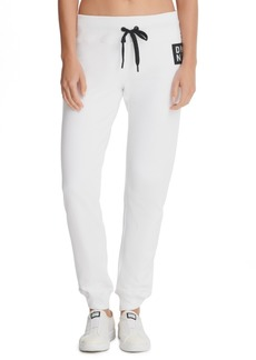 Dkny Sport Terry Logo-Patch Joggers