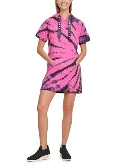 Dkny Sport Tie-Dyed Hoodie Sneaker Dress