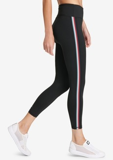 Dkny Sport Track-Stripe Yoga Leggings