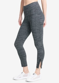 Dkny Sport Tummy-Control Zip-Cuff Leggings
