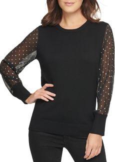 DKNY Star Studded Sweater