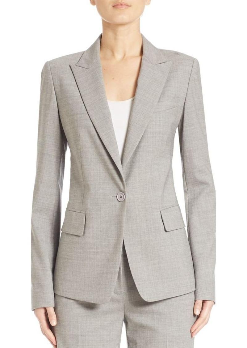 DKNY Stretch Wool Jacket