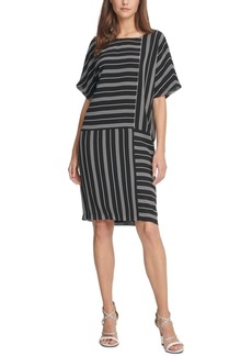Dkny Striped Shift Dress