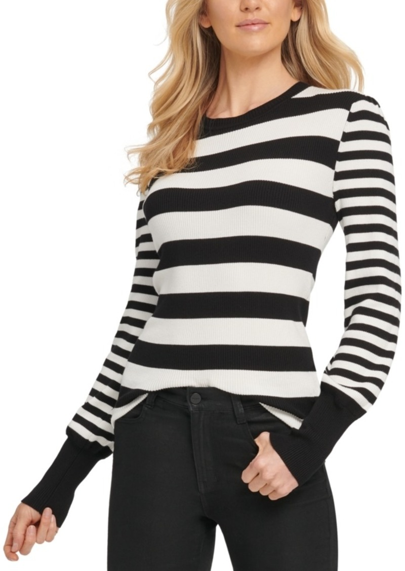 Dkny Striped Sweater