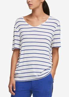 Dkny Striped T-Shirt, Created for Macy's