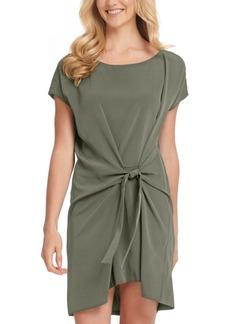 Dkny Tie-Waist Dress