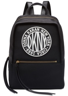 Dkny Tilly Circa Logo Neoprene Backpack, Created for Macy's