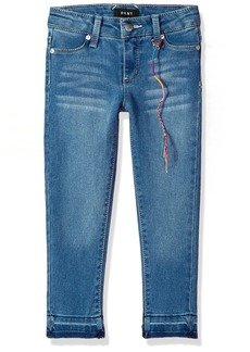 DKNY Toddler Girls' Jean Jamie Super Skinny up Light Wash