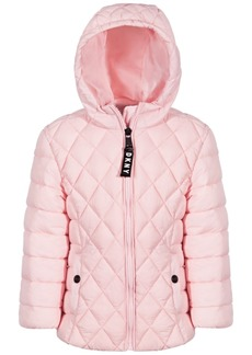 Dkny Toddler Girls Quilted Jacket