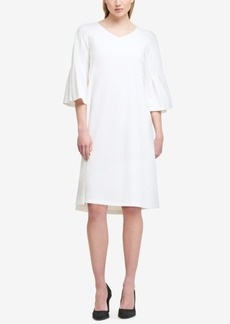 Dkny Trumpet-Sleeve Shift Dress, Created for Macy's
