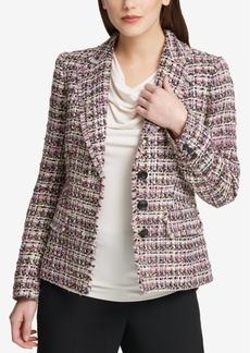 Dkny Tweed Blazer, Created for Macy's