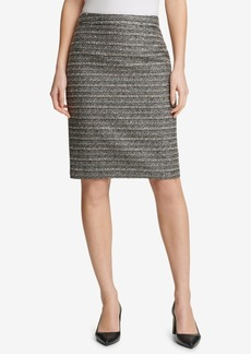 Dkny Tweed Pencil Skirt, Created for Macy's