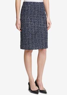 Dkny Tweed Pencil Skirt, Created for Macy's