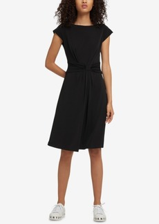 Dkny Twist-Front Dress, Created for Macy's