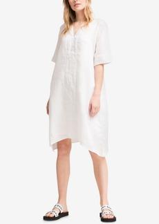 Dkny V-Neck Linen Tunic Dress, Created for Macy's