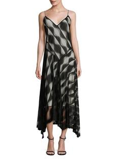 DKNY V-Neck Slip Dress
