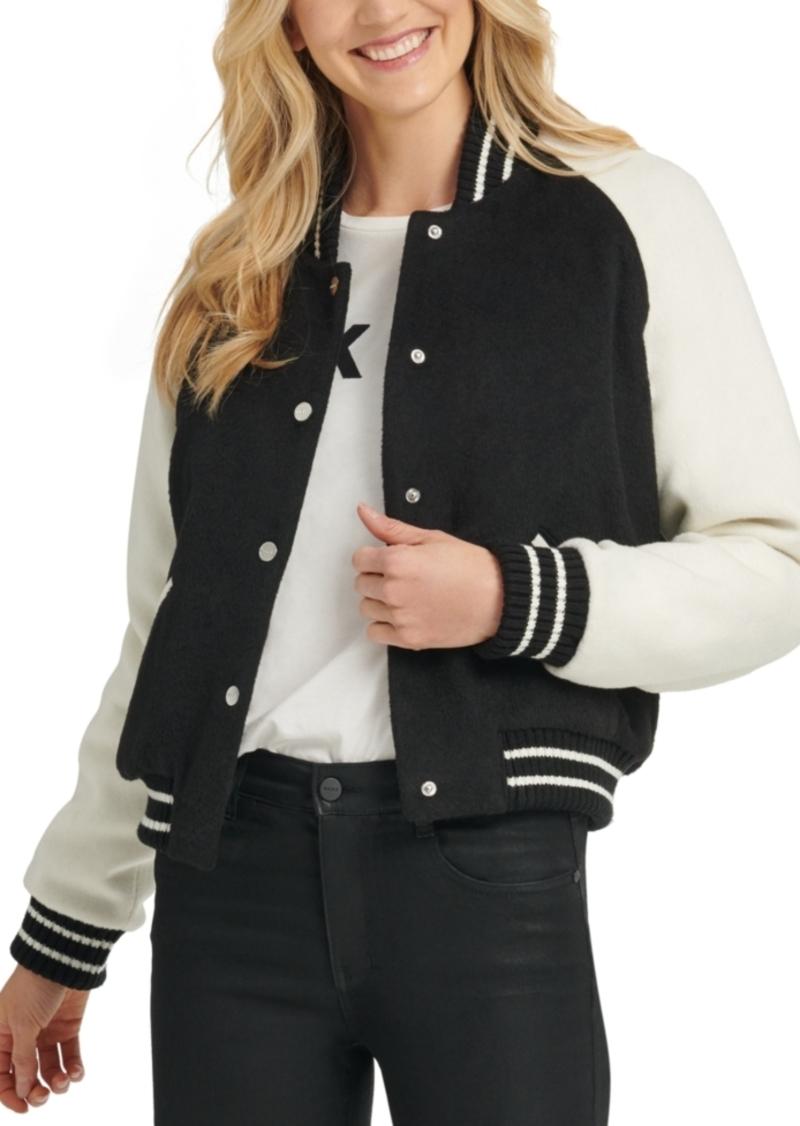 Dkny Varsity Bomber Jacket