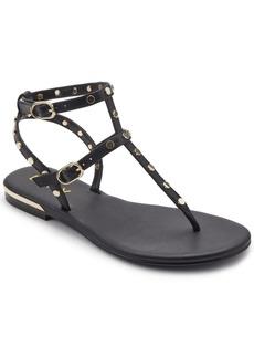Dkny Women's Vin Studded Flat Sandals