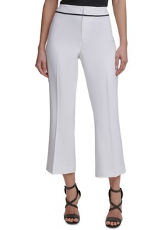 Dkny Wide-Leg Ankle Pants