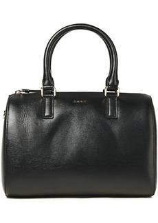 Dkny Woman Bryant Medium Textured-leather Tote Black